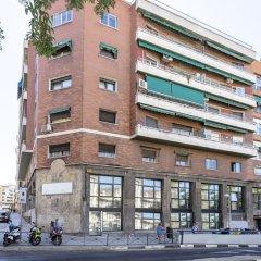 A&b Hostel Príncipe Pío Мадрид вид на фасад