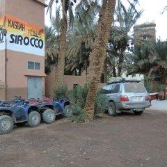 Отель Kasbah Sirocco Марокко, Загора - отзывы, цены и фото номеров - забронировать отель Kasbah Sirocco онлайн парковка