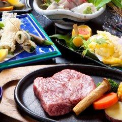 Отель Ryokan Yufuintei Хидзи питание