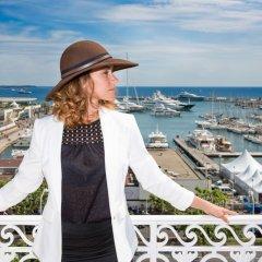 Отель Splendid Cannes Франция, Канны - 8 отзывов об отеле, цены и фото номеров - забронировать отель Splendid Cannes онлайн пляж фото 2