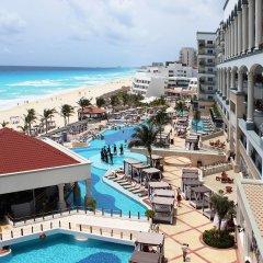 Отель Hyatt Zilara Cancun - All Inclusive - Adults Only Мексика, Канкун - 2 отзыва об отеле, цены и фото номеров - забронировать отель Hyatt Zilara Cancun - All Inclusive - Adults Only онлайн бассейн фото 3