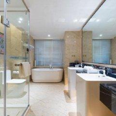 Отель Howard Johnson Wyndham Leonora plzaz Shanghai Китай, Шанхай - отзывы, цены и фото номеров - забронировать отель Howard Johnson Wyndham Leonora plzaz Shanghai онлайн ванная