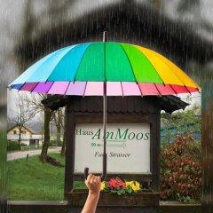 Отель Haus am Moos Австрия, Зальцбург - отзывы, цены и фото номеров - забронировать отель Haus am Moos онлайн приотельная территория фото 2