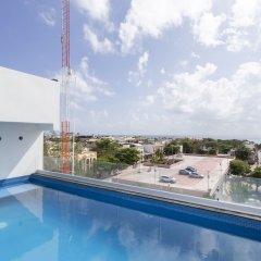 Отель Xcala Illusion Express Мексика, Плая-дель-Кармен - отзывы, цены и фото номеров - забронировать отель Xcala Illusion Express онлайн бассейн фото 3