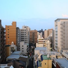 Отель Fukuoka Toei Фукуока балкон