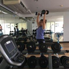 Отель Siam Diamond Resident Бангкок фитнесс-зал