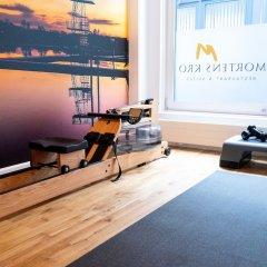 Отель Mortens Kro Restaurant & Suites Алборг фитнесс-зал