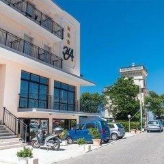 Отель Alcazar Римини парковка