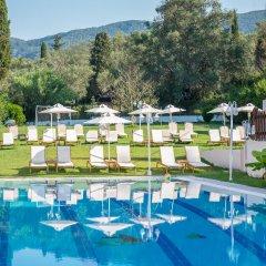 Отель Dominoes Hotel Apartments Греция, Корфу - отзывы, цены и фото номеров - забронировать отель Dominoes Hotel Apartments онлайн бассейн фото 2