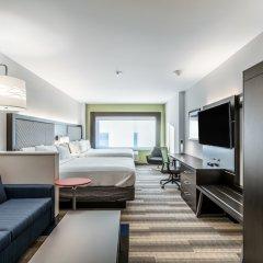 Отель Holiday Inn Express & Suites Jersey City North - Hoboken, an IHG Hotel США, Джерси - отзывы, цены и фото номеров - забронировать отель Holiday Inn Express & Suites Jersey City North - Hoboken, an IHG Hotel онлайн комната для гостей фото 3