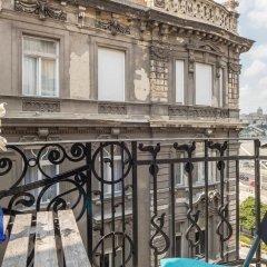 Апартаменты Cibere Apartment Будапешт балкон
