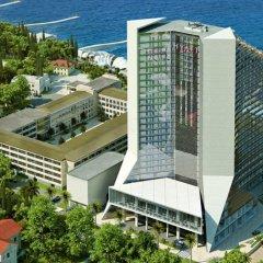 Гостиница Хаятт Ридженси Сочи (Hyatt Regency Sochi) парковка