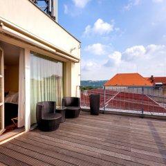 Отель Art Hotel Prague Чехия, Прага - 10 отзывов об отеле, цены и фото номеров - забронировать отель Art Hotel Prague онлайн балкон