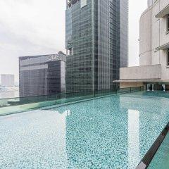 Отель Ascott Raffles Place Singapore бассейн