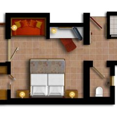 Отель Robinson Club Çamyuva - All-Inclusive в номере фото 2