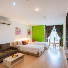 Brighton Hotel & Residence Бангкок комната для гостей фото 2
