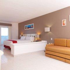 Отель Holiday Inn Cancun Arenas Мексика, Канкун - отзывы, цены и фото номеров - забронировать отель Holiday Inn Cancun Arenas онлайн комната для гостей фото 4