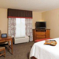 Отель Hampton Inn & Suites Columbus-Easton Area США, Колумбус - отзывы, цены и фото номеров - забронировать отель Hampton Inn & Suites Columbus-Easton Area онлайн комната для гостей фото 5