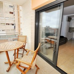 Отель Roman Lloretholiday Испания, Льорет-де-Мар - отзывы, цены и фото номеров - забронировать отель Roman Lloretholiday онлайн балкон