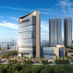 Отель Sheraton Shenzhen Nanshan Шэньчжэнь