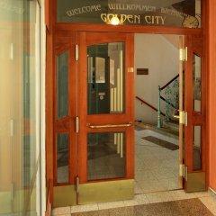 Отель Golden City вид на фасад фото 2