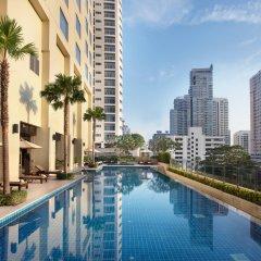 Отель Sukhumvit Park, Bangkok - Marriott Executive Apartments Таиланд, Бангкок - отзывы, цены и фото номеров - забронировать отель Sukhumvit Park, Bangkok - Marriott Executive Apartments онлайн бассейн фото 3