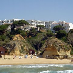 Отель Apartamentos Do Parque Португалия, Албуфейра - отзывы, цены и фото номеров - забронировать отель Apartamentos Do Parque онлайн пляж