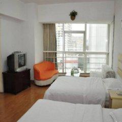 Апартаменты Xiamen Haiwan Dushi Apartment Сямынь комната для гостей фото 2