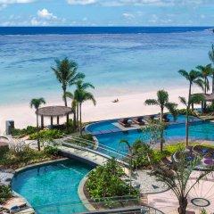 Отель Dusit Thani Guam Resort пляж