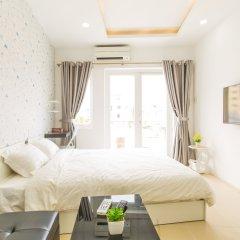 Отель Qhome Saigon - Vo Van Tan Вьетнам, Хошимин - отзывы, цены и фото номеров - забронировать отель Qhome Saigon - Vo Van Tan онлайн комната для гостей фото 3