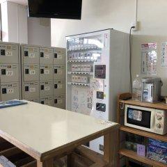 Mori no Kirameki Hostel Якусима сейф в номере