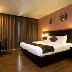 Отель Nida Rooms Nana Le Metro Sukhumvit Soi 4 At Boss Suites Nana Бангкок комната для гостей