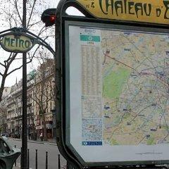 Отель Kyriad Paris 10 - Canal Saint Martin - République городской автобус