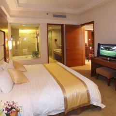 Отель Ramada Plaza Guangzhou комната для гостей