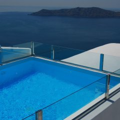 Отель Heliotopos Hotel Греция, Остров Санторини - отзывы, цены и фото номеров - забронировать отель Heliotopos Hotel онлайн бассейн фото 2