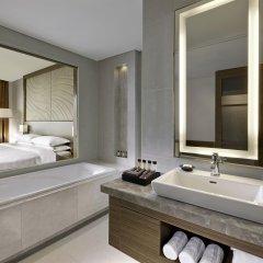 Отель Sheraton Seoul D Cube City Hotel Южная Корея, Сеул - отзывы, цены и фото номеров - забронировать отель Sheraton Seoul D Cube City Hotel онлайн ванная фото 2