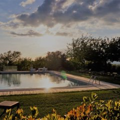Отель Relais Castelbigozzi Строве бассейн фото 2