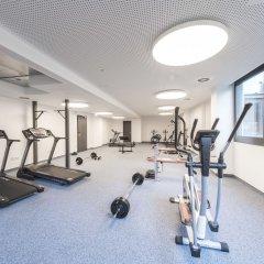Отель JOYN Munich Olympic Мюнхен фитнесс-зал фото 2