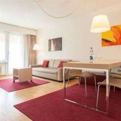 Апартаменты EMA house Serviced Apartments, Unterstrass Цюрих комната для гостей фото 2
