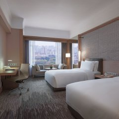 New World Shanghai Hotel Шанхай комната для гостей фото 2