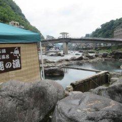 Отель Amagase Onsen Hotel Suikoen Япония, Хита - отзывы, цены и фото номеров - забронировать отель Amagase Onsen Hotel Suikoen онлайн пляж фото 2