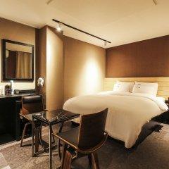 Отель Blanc Hotel Gangnam Южная Корея, Сеул - отзывы, цены и фото номеров - забронировать отель Blanc Hotel Gangnam онлайн комната для гостей фото 3