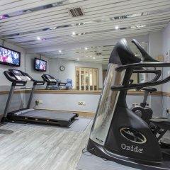 Отель Holiday Inn Oxford Circus Лондон фитнесс-зал фото 3