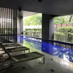 Отель Tc Contel @ Ekkamai Бангкок бассейн
