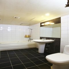 Отель Sky Motel Jongno Южная Корея, Сеул - отзывы, цены и фото номеров - забронировать отель Sky Motel Jongno онлайн ванная