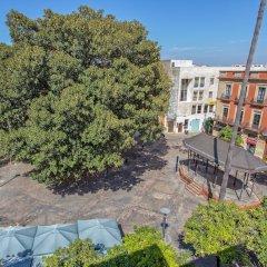 Отель Casa Jerez Alameda del Banco Испания, Херес-де-ла-Фронтера - отзывы, цены и фото номеров - забронировать отель Casa Jerez Alameda del Banco онлайн балкон