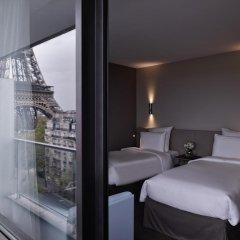 Отель Pullman Paris Tour Eiffel 4* Номер Премиум разные типы кроватей фото 2