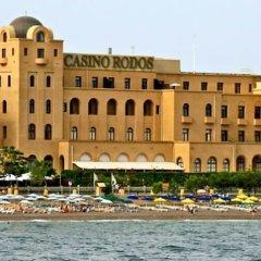 Отель Casino Rodos Grande Albergo Delle Rose пляж