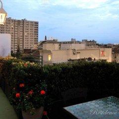 Отель Residence Courcelle балкон