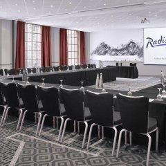 Radisson Blu Hotel, Edinburgh City Centre Эдинбург помещение для мероприятий